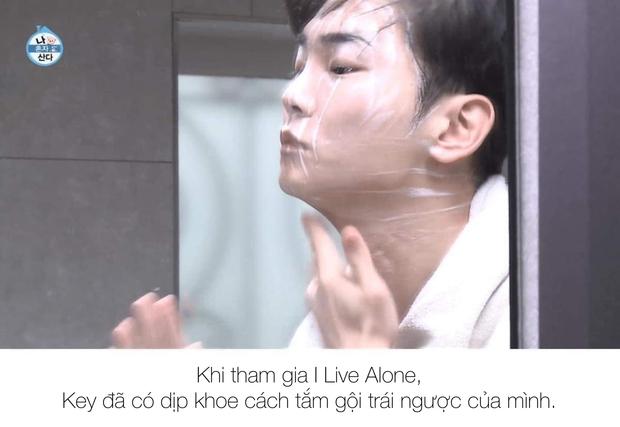 Tranh cãi cách tắm gội của Key (SHINee): Rửa mặt trước hay gội đầu trước? - Ảnh 1.