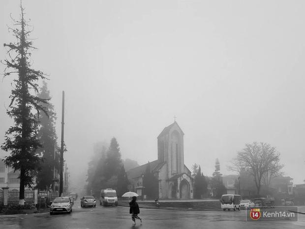 Khám phá vẻ đẹp của thành phố trong sương Sa Pa với Galaxy S21 Ultra - Ảnh 2.