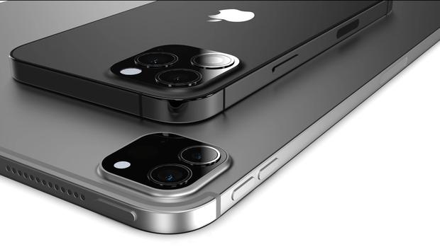 Lộ ảnh concept iPhone 13 với màu hoàn toàn mới, khung thép chống xước cực xịn - Ảnh 2.