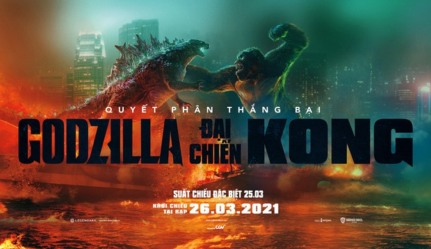 Godzilla vs. Kong thắng lớn ở Việt Nam, nhìn doanh thu ở Trung Quốc mà giật mình - Ảnh 1.