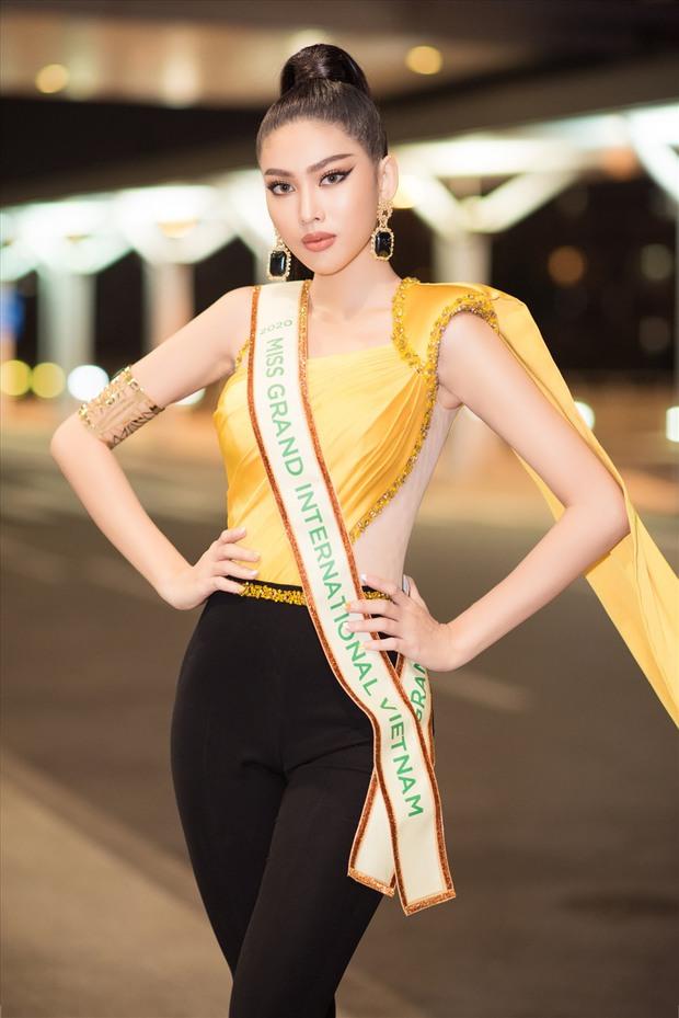 Đọ trình tiếng Anh của người đẹp Việt thi Miss Grand International: Kiều Loan phát âm đã tai, Ngọc Thảo, Huyền My bị chê lên xuống - Ảnh 2.