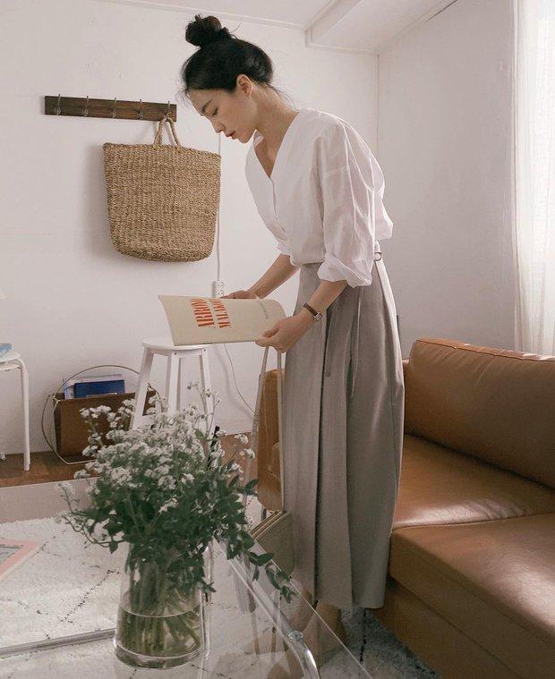 Hội gái Hàn hay diện sơmi theo 12 cách này để ghi điểm sành điệu và sang xịn nhất - Ảnh 3.