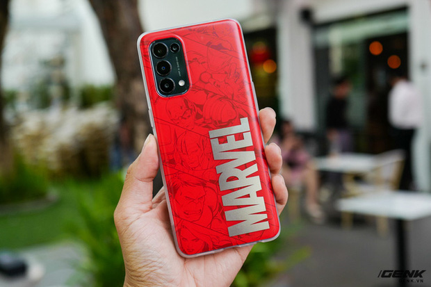 Trên tay OPPO Reno5 phiên bản Marvel Edition đặc biệt: Giá 9.7 triệu, bán giới hạn chỉ 2000 chiếc - Ảnh 6.