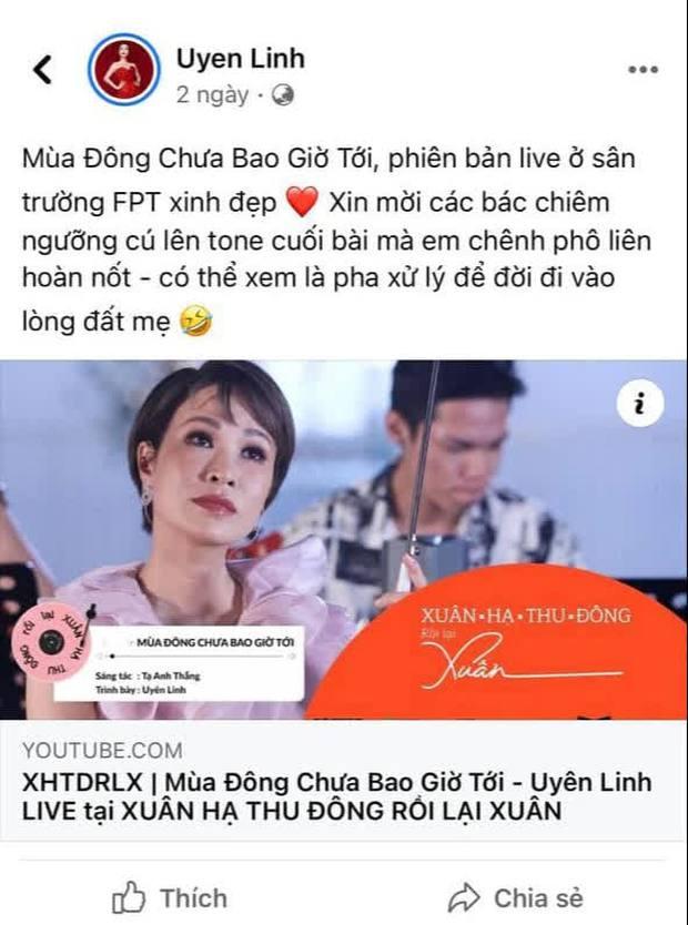 Uyên Linh bị netizen chê hát dở khi lỡ hát chênh phô tại #XHTĐRLX, ai ngờ chính chủ tự nhận xét bản thân còn gắt hơn - Ảnh 4.