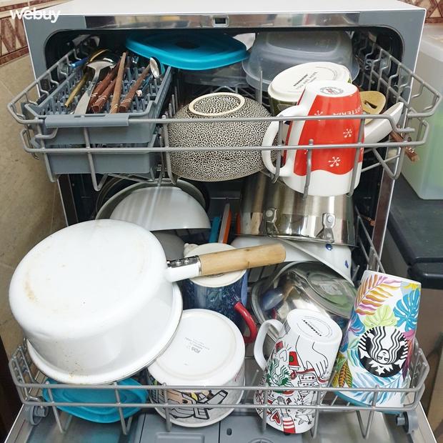 """Sắm máy rửa bát Electrolux giá chưa đến 7 triệu, lắp không vừa bếp nhưng cô gái vẫn hài lòng vì dùng quá """"ngon"""" - Ảnh 6."""