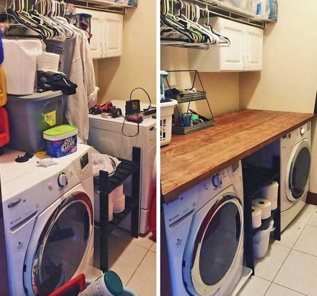 Nhìn loạt ảnh trước và sau khi dọn dẹp mà choáng: Không có căn nhà nào xấu, chỉ do bạn lười thôi! - Ảnh 1.