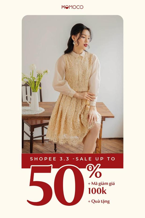 Loạt shop thời trang sale đẫm ngày 3/3: Giảm đến 70%, các nàng nhanh mua tự thưởng 8/3 - Ảnh 5.