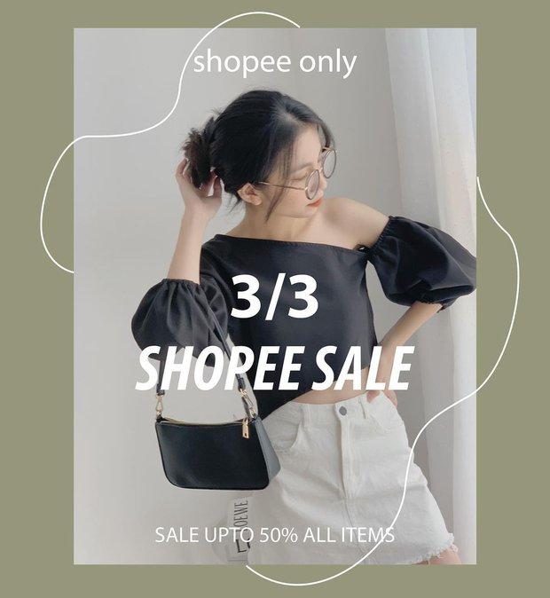 Loạt shop thời trang sale đẫm ngày 3/3: Giảm đến 70%, các nàng nhanh mua tự thưởng 8/3 - Ảnh 19.