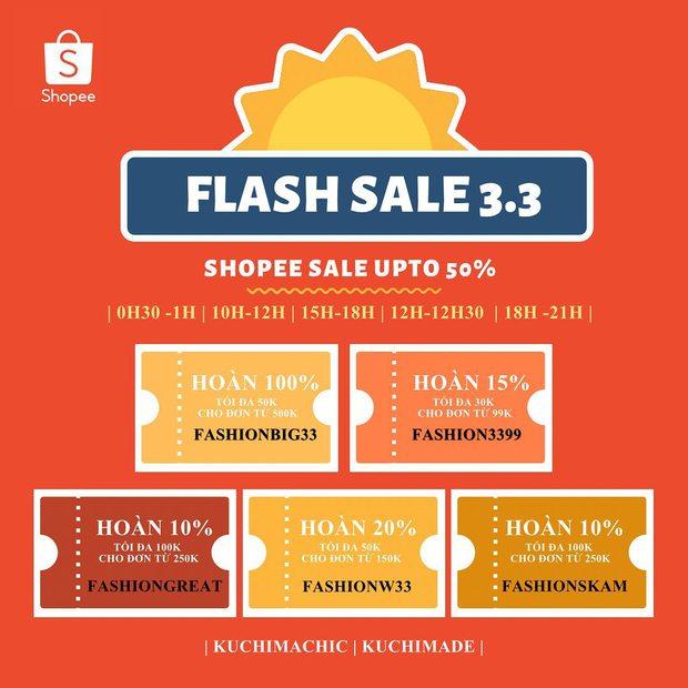 Loạt shop thời trang sale đẫm ngày 3/3: Giảm đến 70%, các nàng nhanh mua tự thưởng 8/3 - Ảnh 13.