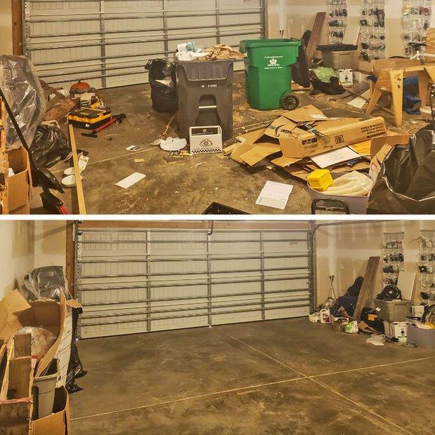 Nhìn loạt ảnh trước và sau khi dọn dẹp mà choáng: Không có căn nhà nào xấu, chỉ do bạn lười thôi! - Ảnh 3.