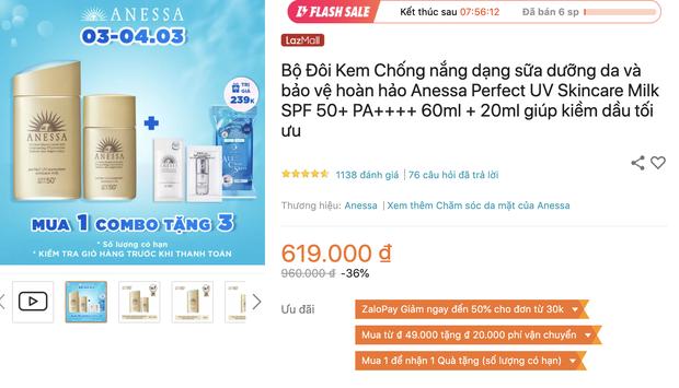 Săn sale 3/3: List mỹ phẩm chính hãng hot hit giảm giá ác liệt, từ 145k sắm được đồ xịn - Ảnh 1.