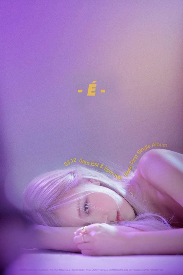 Rosé (BLACKPINK) tung poster mới hé lộ tên single album đầu tay, có đúng một chữ cụt lủn đơn giản mà độc! - Ảnh 4.