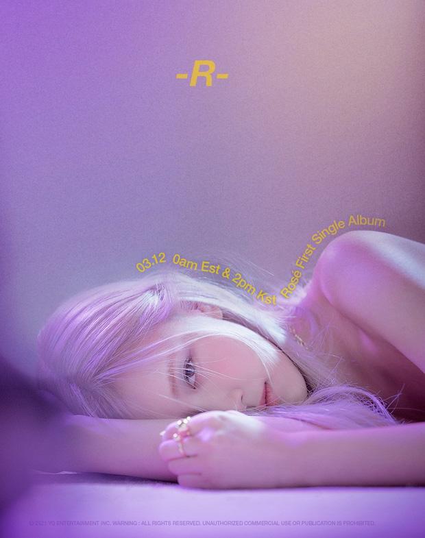 Đã có thể chốt đơn album solo của Rosé (BLACKPINK): Màu đen - trắng chủ đạo do chính chủ thiết kế, có cả bản đĩa than xịn xò! - Ảnh 1.