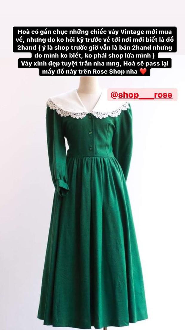 Hòa Minzy thanh lý cả loạt váy style vintage cực xinh, có món giá chỉ còn 1/2 - Ảnh 2.