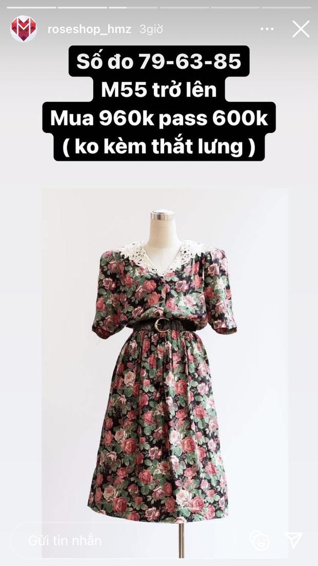 Hòa Minzy thanh lý cả loạt váy style vintage cực xinh, có món giá chỉ còn 1/2 - Ảnh 4.
