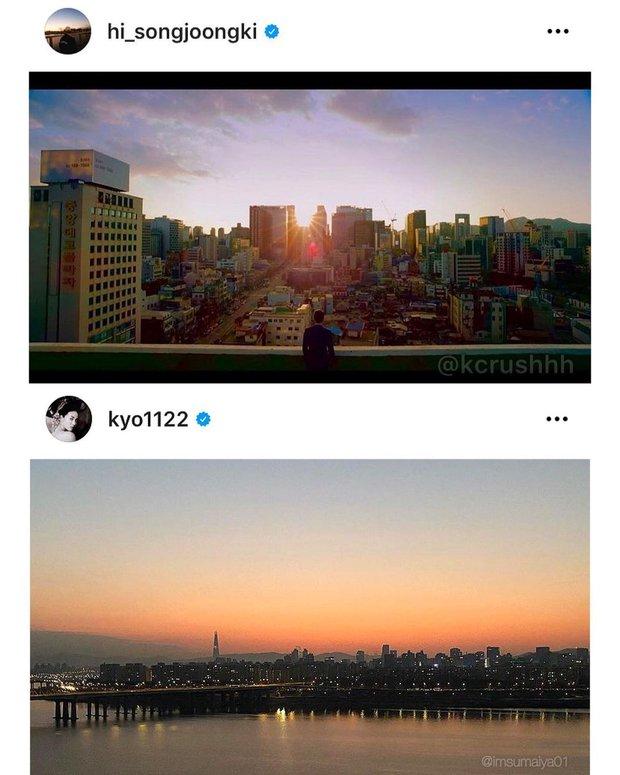 Song Joong Ki - Song Hye Kyo cùng đăng ảnh giống nhau đến bất ngờ, quay lại sau 2 năm ly hôn hay gì? - Ảnh 2.