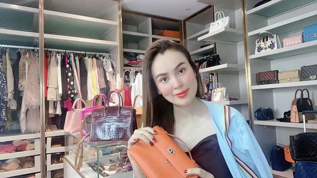 Hoa hậu Phương Lê được tặng 6 tỷ vì giảm 6kg: Chơi hàng hiệu khét tiếng, quỳ gối rửa chân cho chồng - Ảnh 2.