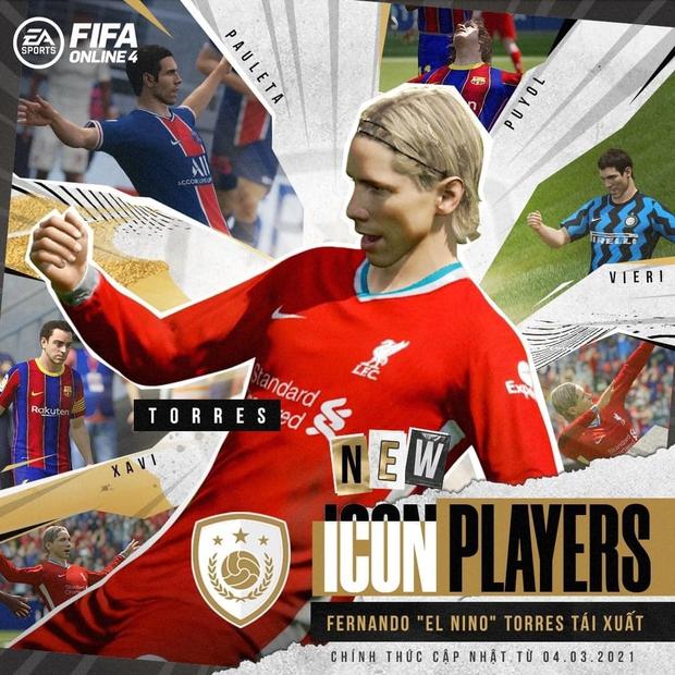 FIFA Online 4: Game thủ Việt háo hức trước thông tin sắp cập nhật thêm ICONS mới, Ơn giời, Torres đây rồi! - Ảnh 2.