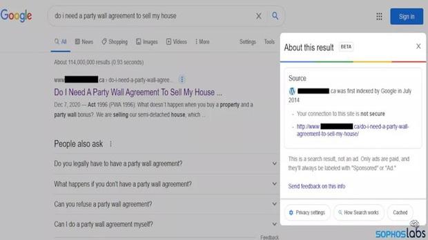 Đau đầu với cách hack mới của tin tặc: Đánh lừa Google để tăng SEO cho trang web phát tán mã độc - Ảnh 1.