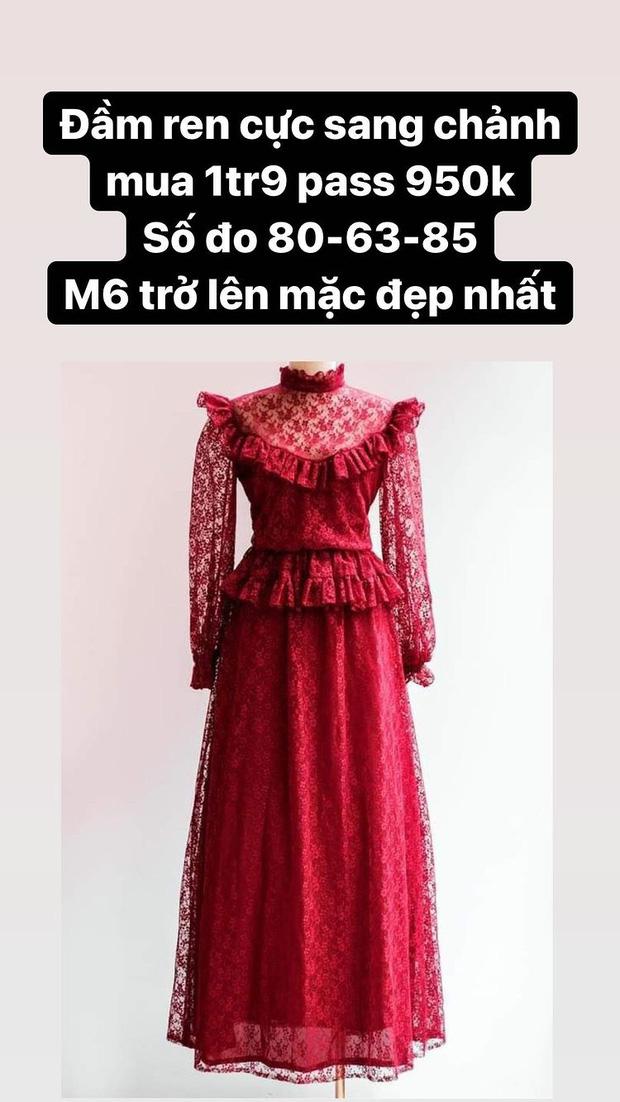 Hòa Minzy thanh lý cả loạt váy style vintage cực xinh, có món giá chỉ còn 1/2 - Ảnh 7.
