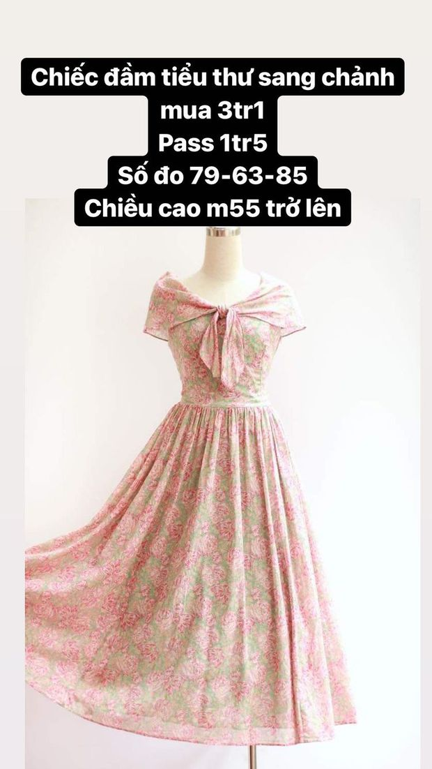Hòa Minzy thanh lý cả loạt váy style vintage cực xinh, có món giá chỉ còn 1/2 - Ảnh 5.