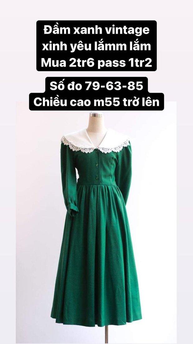 Hòa Minzy thanh lý cả loạt váy style vintage cực xinh, có món giá chỉ còn 1/2 - Ảnh 3.
