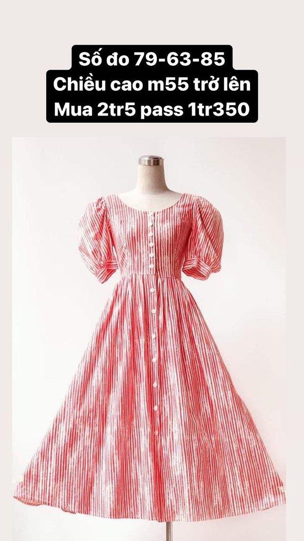 Hòa Minzy thanh lý cả loạt váy style vintage cực xinh, có món giá chỉ còn 1/2 - Ảnh 6.