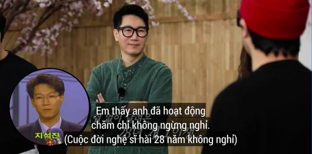 """Lại thêm khoảnh khắc xúc động tại Running Man: """"Bố già"""" Ji Suk Jin được các thành viên mừng thọ long trọng - Ảnh 4."""