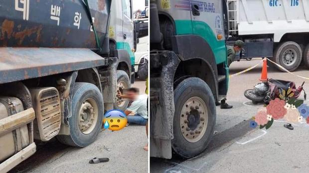 Hình ảnh người đàn ông gào khóc bên thi thể bé trai 4 tuổi sau tai nạn giao thông khiến ai cũng xót thương - Ảnh 2.