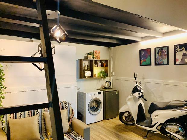 Trai độc thân cải tạo phòng trọ xịn như chung cư, chi phí chỉ tốn 13 triệu - Ảnh 3.