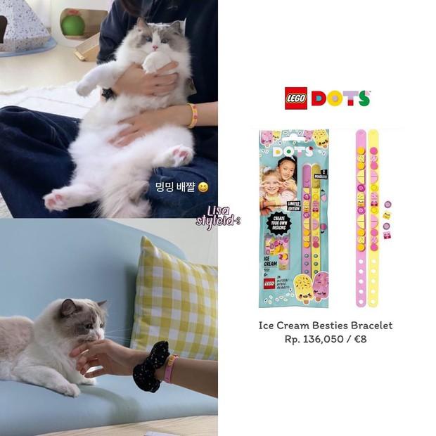 """Lisa đeo vòng tay Lego siêu cute giá chỉ 200k, muốn """"đu"""" theo quá là đơn giản luôn - Ảnh 3."""
