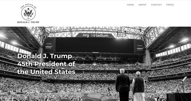 Ông Donald Trump giới thiệu trang web chính thức của Tổng thống Mỹ thứ 45 - Ảnh 2.