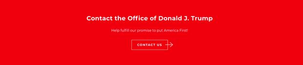 Ông Donald Trump giới thiệu trang web chính thức của Tổng thống Mỹ thứ 45 - Ảnh 3.