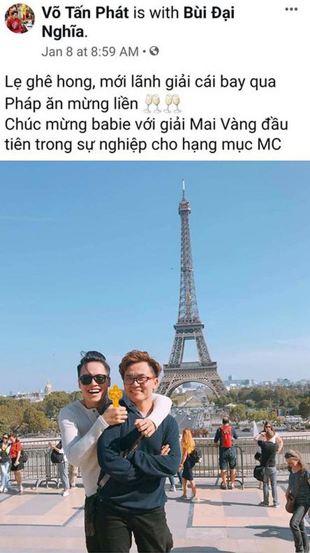 Chỉ bình luận 1 câu, BB Trần đã làm lộ chuyện MC Đại Nghĩa sống chung với tình tin đồn đồng giới? - Ảnh 5.