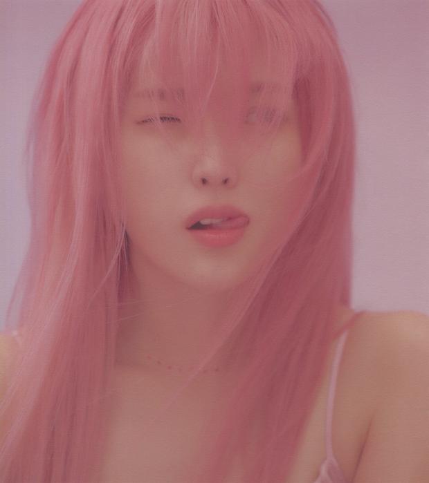 IU gây náo loạn mạng xã hội nhờ tạo hình với tóc hồng cực chất, netizen liên tưởng đến người bạn quá cố Sulli - Ảnh 4.