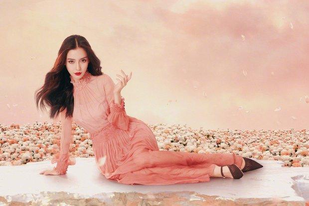 Bộ ảnh mới của Angela Baby bị chê toàn tập: Trang phục lạc quẻ, concept quê mùa, đại sứ Dior đây sao? - Ảnh 1.
