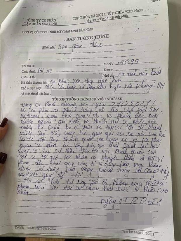 Đăng clip tố mẹ trẻ bỏ quên con nhỏ trên xe taxi, tài xế thừa nhận dựng chuyện và gửi lời xin lỗi - Ảnh 4.