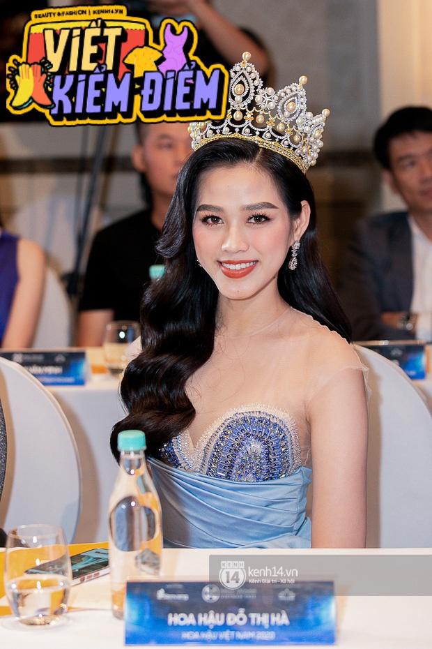 Ngày hôm nay, dường như Hoa hậu Đỗ Thị Hà có thù với makeup và trang phục - Ảnh 4.