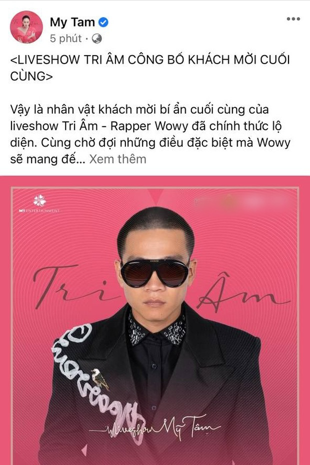 1 năm trước thừa nhận mê mệt nụ cười Mỹ Tâm, Wowy giờ thành khách mời trong liveshow idol: Fanboy thành công là đây! - Ảnh 1.