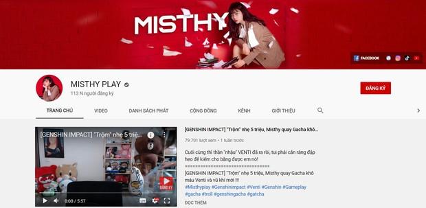 Kênh YouTube gần 6 triệu lượt theo dõi sắp toang, MisThy lần thứ 2 lập thêm kênh mới toanh - Ảnh 2.