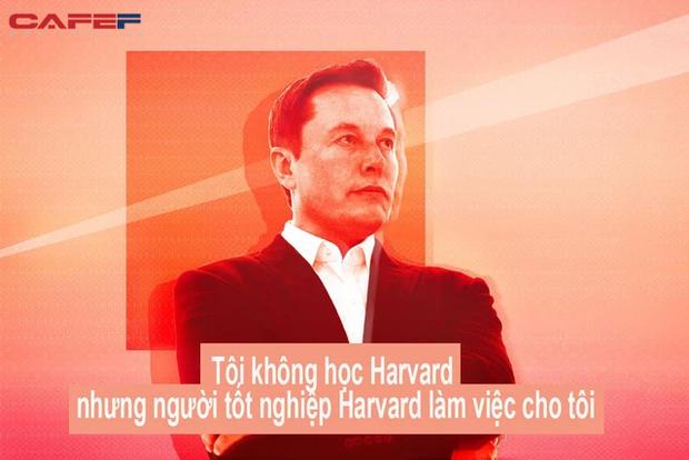 Bị sa thải khỏi chính công ty mình sáng lập, đây là cách Elon Musk trở lại và lập nên kỳ tích: Tôi không học Harvard nhưng người tốt nghiệp Harvard làm việc cho tôi - Ảnh 1.