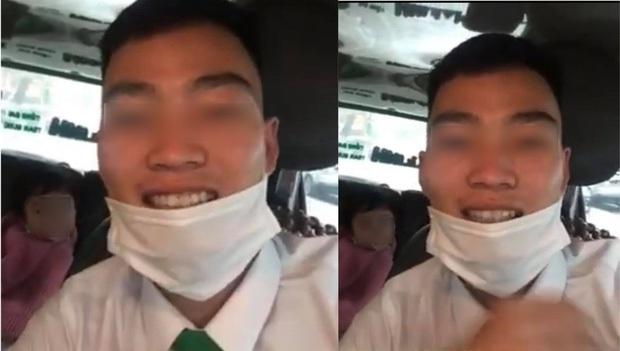 Công an Bắc Ninh làm việc với tài xế taxi quay clip, dựng chuyện mẹ bỏ quên con - Ảnh 1.