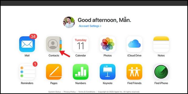 Hướng dẫn chuyển danh bạ từ iPhone sang Android - Ảnh 1.