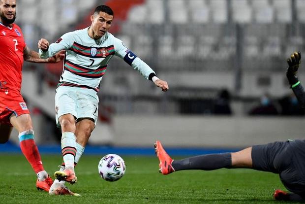 Ronaldo ghi bàn giúp Bồ Đào Nha ngược dòng hạ nhược tiểu Luxembourg - Ảnh 5.