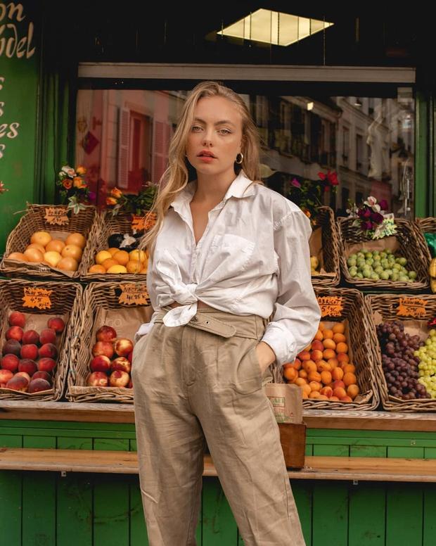 Điểm mặt 5 kiểu áo sơ mi của phụ nữ Pháp, chỉ cần diện đơn giản cũng đạt 100 điểm tinh tế! - Ảnh 9.