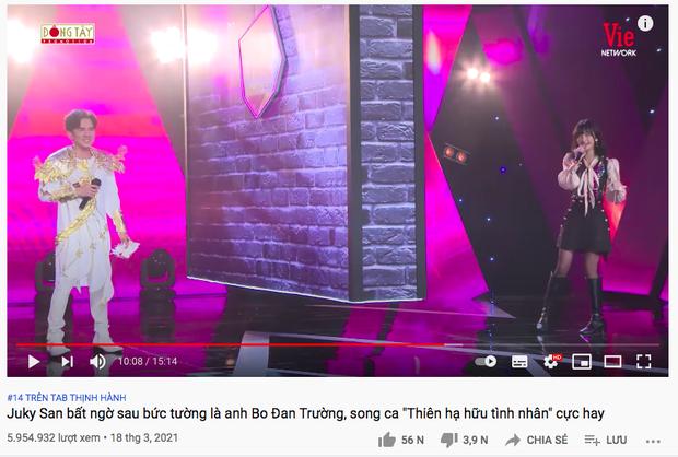 Sau Văn Mai Hương và bộ đôi Đan Trường - Juky San, thêm 1 màn cover nhạc Hoa lời Việt công phá lên hẳn #2 trending YouTube - Ảnh 5.