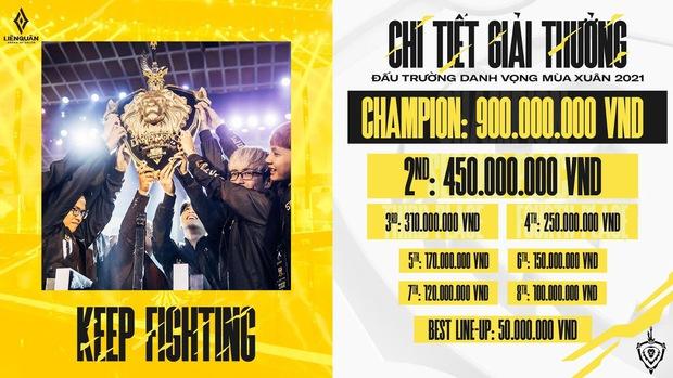 Được đầu tư 12 tỷ, Đấu Trường Danh Vọng tiếp tục là giải đấu Esports số 1 Việt Nam, tuyển thủ Liên Quân lại có thêm lương bổng - Ảnh 3.