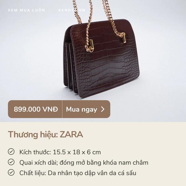 8 em túi xách sang chảnh giá từ 700k - 2 triệu xứng đáng để các nàng rước về dịp 8/3 này - Ảnh 3.