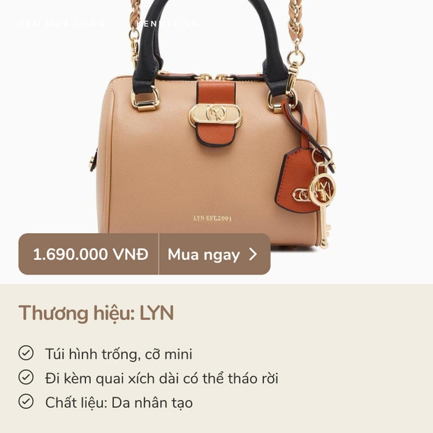8 em túi xách sang chảnh giá từ 700k - 2 triệu xứng đáng để các nàng rước về dịp 8/3 này - Ảnh 7.