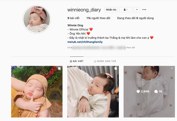 """""""Thánh meme thế hệ mới"""" gọi tên con gái Đông Nhi: Từ cute """"hột me"""" đến ăn vạ đủ cả, bảo sao vừa lập Instagram đã có cả chục nghìn fan - Ảnh 2."""